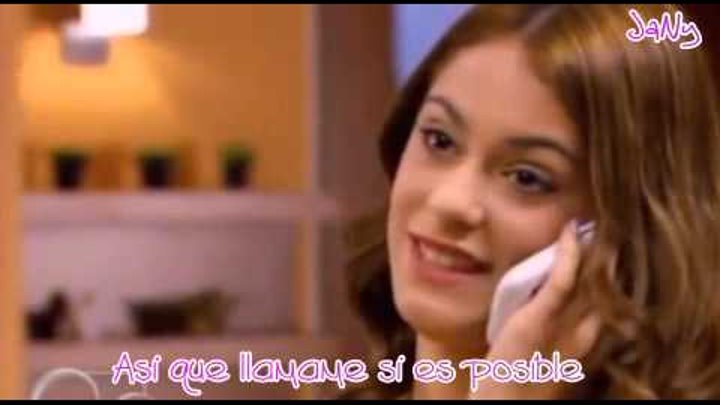 Violetta y Leon (Call me maybe / lyrics Español)