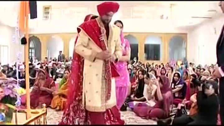 Beautiful Sikh Wedding at Bedford Gurdwara and Double Trees Hilton by EASTERN ELEGANCE