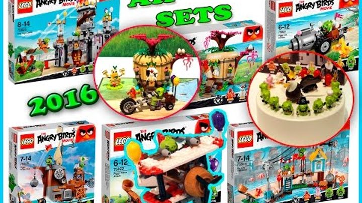 Lego Angry Birds Summer 2016 Sets Pictures From The Nuremberg Toy Fair. Review. Лего Злые Птицы