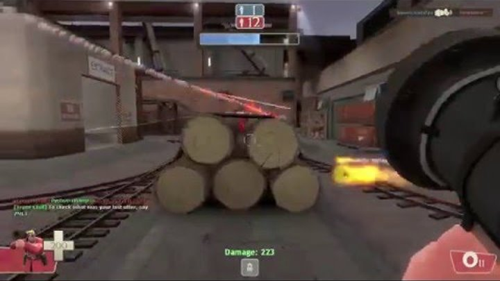Team Fortress2 сезон 2 серия 11 Спанч боб Атакует! спасайся