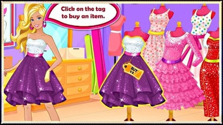 Barbie Shop Till You Drop - Barbie Shopping and Dress Up Game For Girls