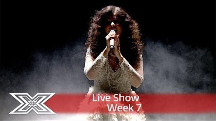 Saara Aalto gets pulses racing with My Heart Will go on | Live Shows Week 7 | The X Factor UK 2016