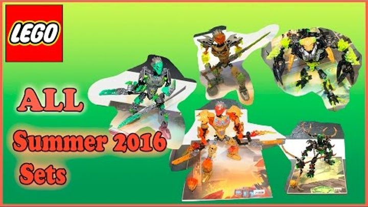 All Summer 2016 Lego Bionicle Sets From The Nuremberg Toy Fair Review. Лего Бионикл Лето 2016
