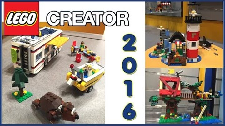 Lego Creator Summer 2016 Sets Pictures From The Nuremberg Toy Fair. Review.