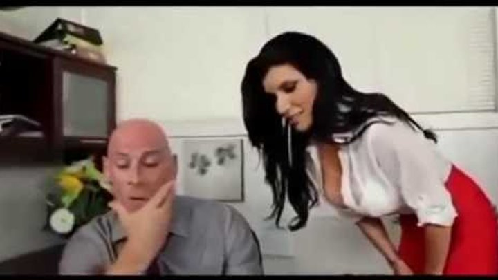 Hot scene romance- secretary deals romance with boss for her salary increase deal