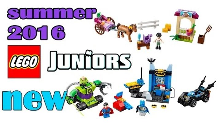 Lego Juniors Summer 2016 Sets Pictures From The Nuremberg Toy Fair. Review.