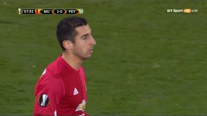 Henrikh Mkhitaryan vs Feyenoord (H) 16-17 (English Commentary)