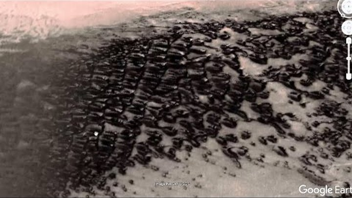 Amazing! Ancient City in ruins found in the Mars December 2016