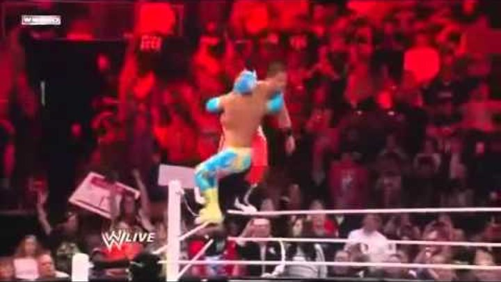 WWE Sin Cara Best Moves