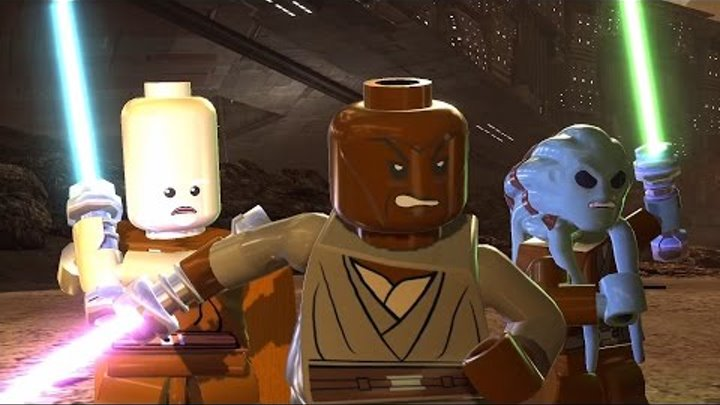 LEGO Star Wars III: The Clone Wars. #8. Battle of Geonosis (Свободная игра, 100%)