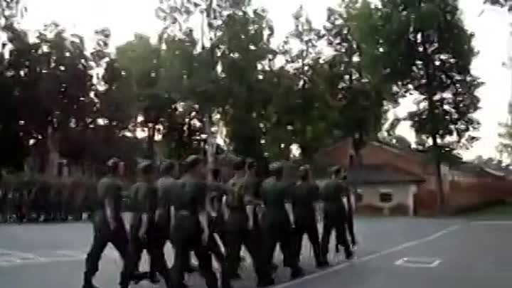 Lady Gaga Bad Romance Russian soldiers cover