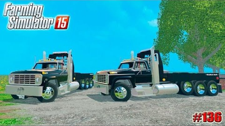 Farming Simulator 15 моды: Тягач FORD SEMI (136 серия)