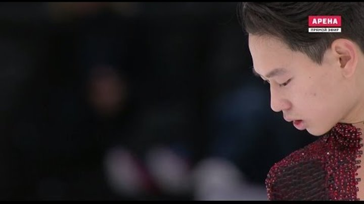 2016 Trophée Eric Bompard. Men - FР. Denis TEN