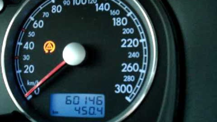 VW Golf 4 R32 0- 180 Km/h