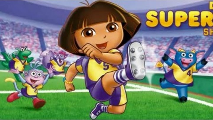 Cartoon game. Dora the Explorer - World Cup Soccer Brazil. Full Episodes in English 2015