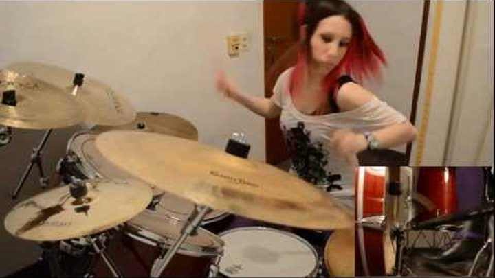 """Slipknot """"Duality"""" Drum Cover (by Nea Batera)"""