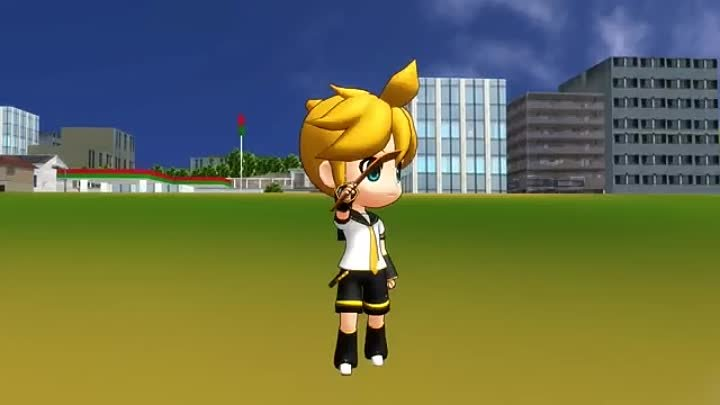 [MMD] Len and the Heroic Escape