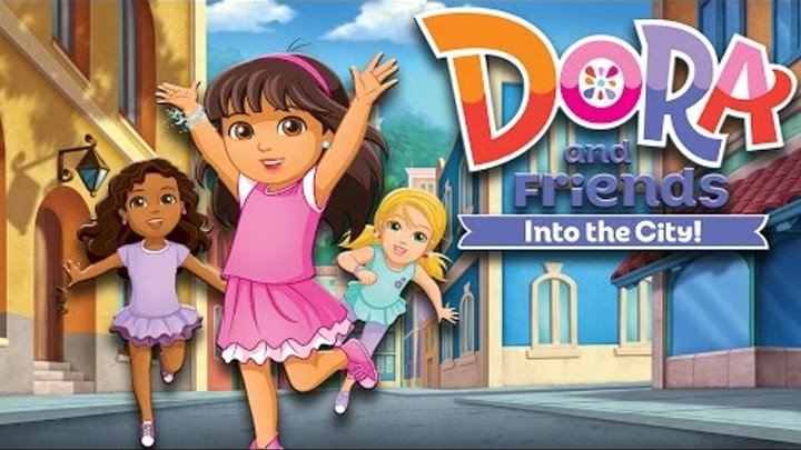 Cartoon game. Dora and Friends Into the City - Community Garden. Part 2. Full Episodes in English