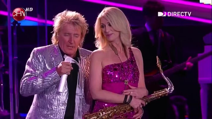 Rod Stewart Some Guys Have All The Luck Viña 2014