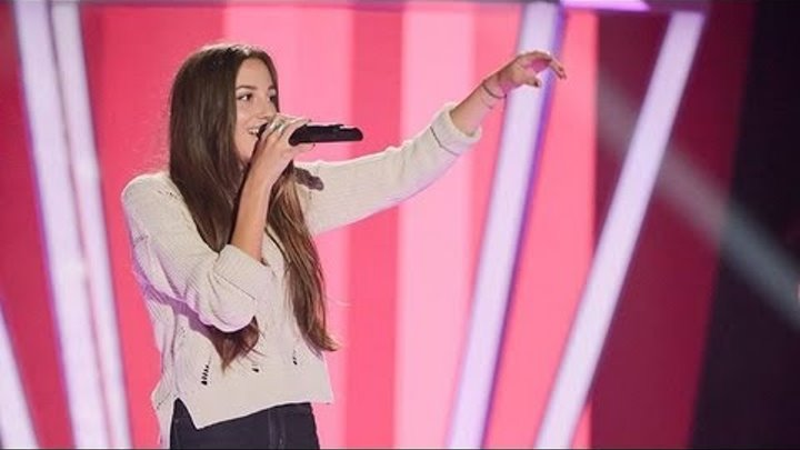 Kaity Dunstan Sings Brand New Key: The Voice Australia Season 2