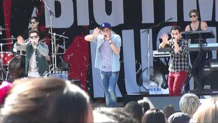 Big Time Rush Fresno Fair Famous,Big Time & Till I Forget About You Live 10-8-11