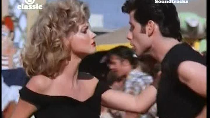 John Travolta and Olivia Newton - You`re the one that i want (OST Grease (Бриолин) 1978