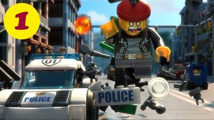 Мультфильм LEGO City Смешные мини видео. LEGO City Funny mini movie Catch The Crook Ep2