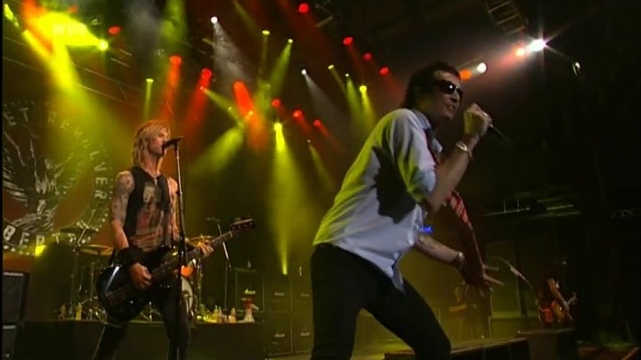 (HD) Velvet Revolver Set Me free LiVE TV 2008