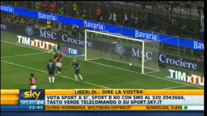 Milan - Inter 3-0 | Highlights Sintesi Sky Sport 24 | 02/04/2011 | 31^ giornata serie A | HQ