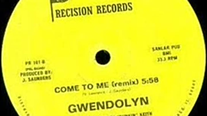 Gwendolyn - Come To Me 1984