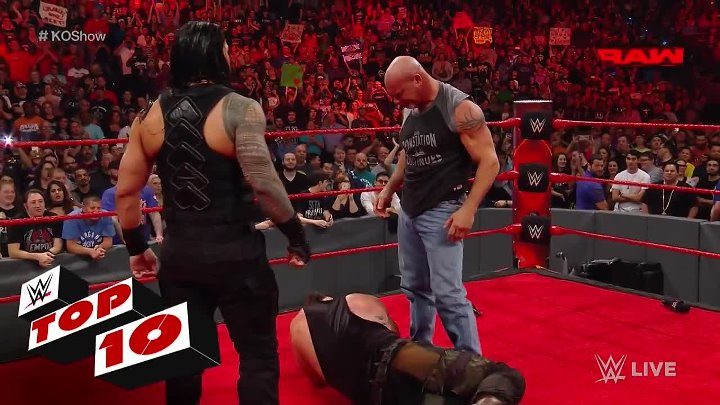 Top 10 Raw moments_ WWE Top 10, Jan. 2, 2017