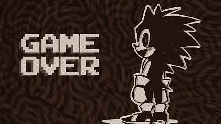 Game over в sonic.exe