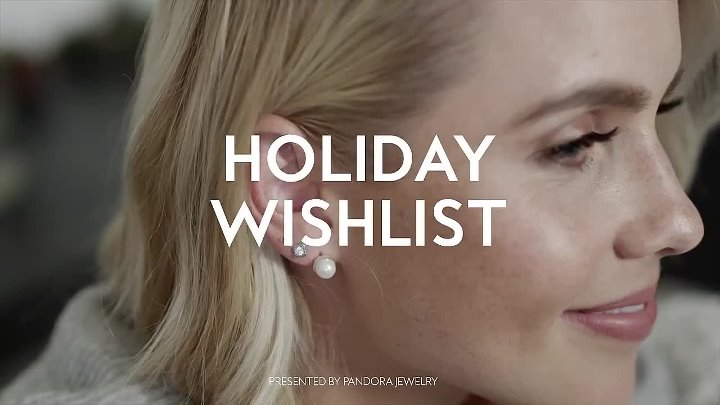 "Клэр Холт в проекте Пандоры ""Holiday wish list"""