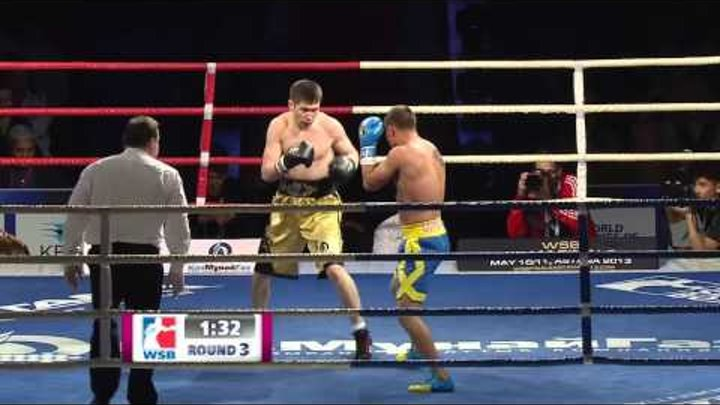 BASHENOV vs LOMACHENKO - Team Finals - Day 1 - WSB Season 3
