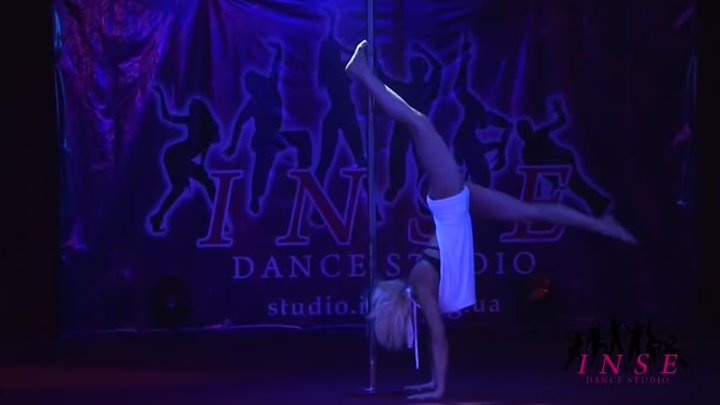 Pole-dance, танец на пилоне, танец на шесте (INSE dance studio)