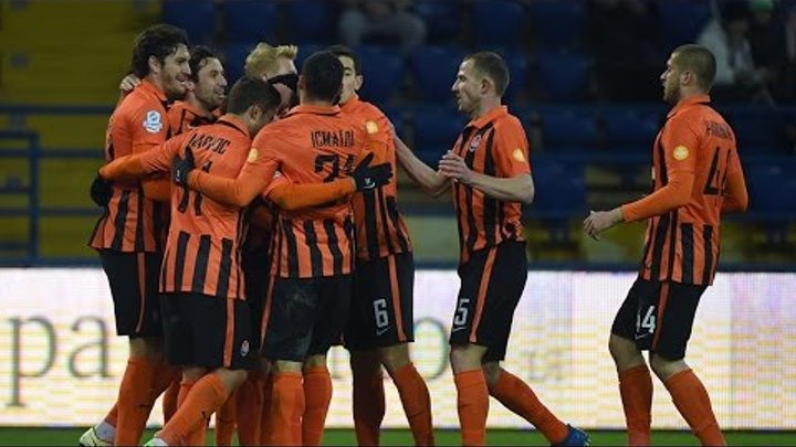 Zorya 1-2 Shakhtar. Highlights (12/03/2017)