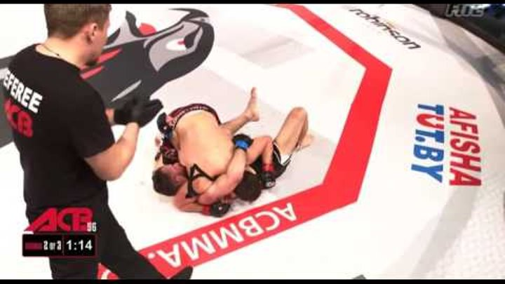 "ACB 56 ""Young Eagles 16"": Asadullah Ahazaev (Russia) vs Vitaly Ulich (Belorussia)"