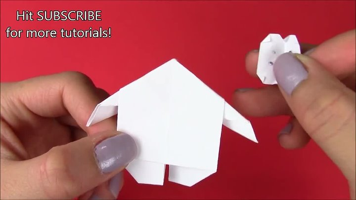 1 Origami BAYMAX from Disney Big Hero 6- Paper Crafts for Kids Easy