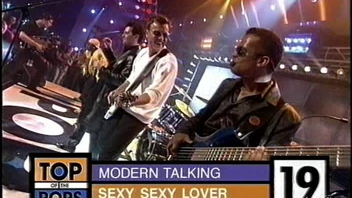 Modern Talking & Eric Singleton -Sexy Sexy Lover /Top of the Pops.12.06.1999/MTW