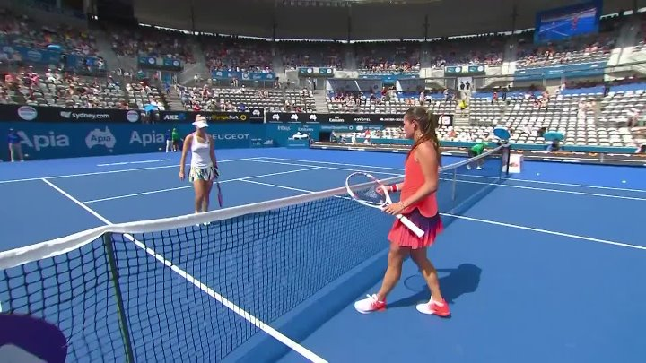 Kerber v Kasatkina Match Highlights (R2) ¦ Apia International Sydney 2017