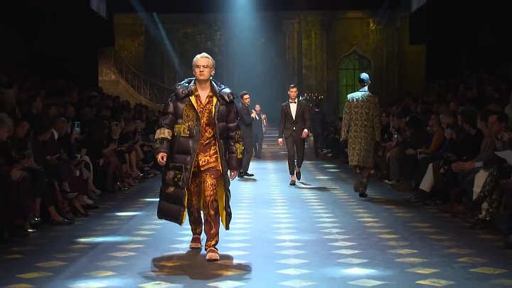 Dolce&Gabbana Fall-Winter 2017-18 Men's Fashion Show