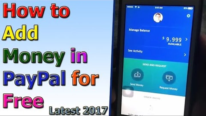 Paypal Hack - Get Free Money on Paypal 9999$ Instant 2017