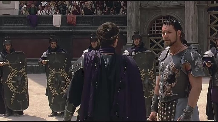 Gladiator _ The Battle with A Retired Gladiator (ft Russell Crowe and Joaquin Ph