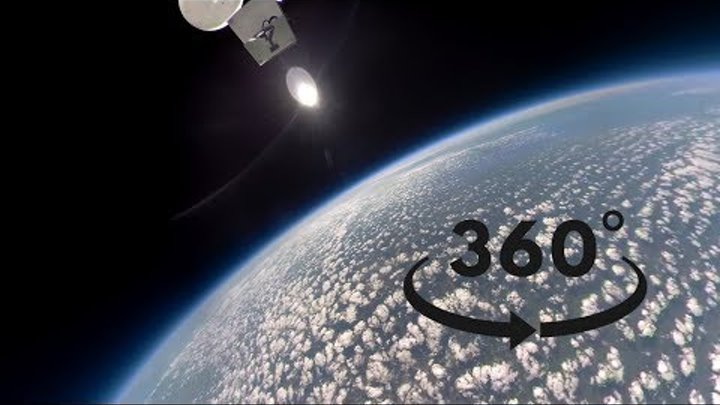 360 VR Hyperlapse to space - Gopro Fusion
