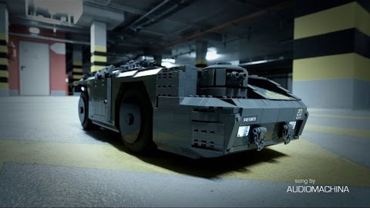 Lego Technic RC M577 APC from the Aliens movie [4K]