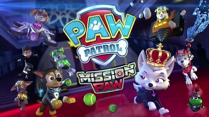Paw patrol mission paw official trailer