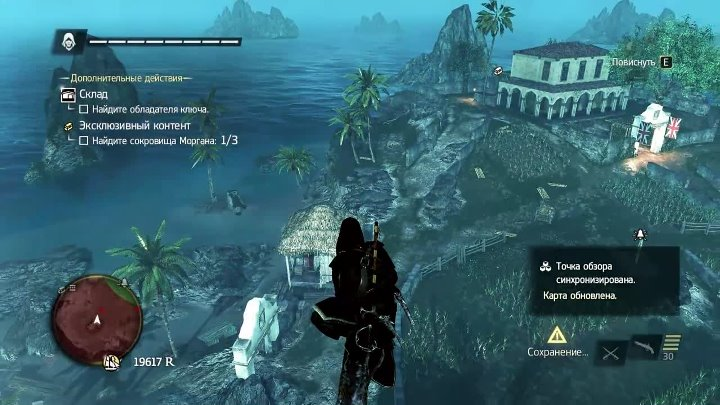 Assassin's Creed IV Black Flag | серия 34 | Захват форта Драйс-Тортугас | Черный остров