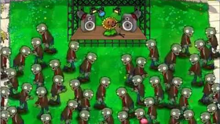 Растения Против Зомби Музыка Plants Vs Zombies music