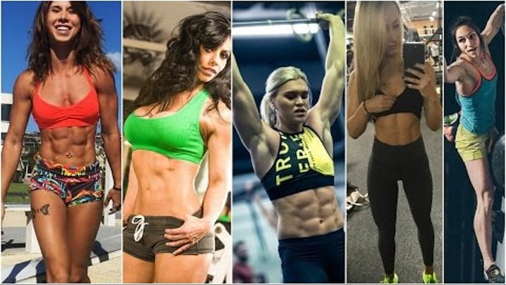 TOP 10 STRONGEST WORKOUT GIRLS 2017