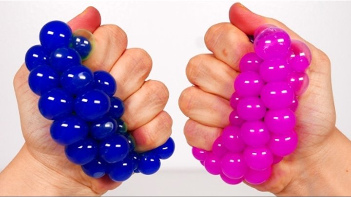 Learn Colors with Squishy Mesh Balls for Kids! Learning Video Compilation for Children
